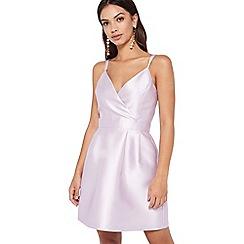 Miss Selfridge - Lilac cami prom dress