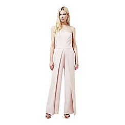 Miss Selfridge - Nude bandeau jumpsuit