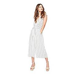 Miss Selfridge - Stripe culottes jumpsuit