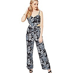 Miss Selfridge - Print cutout jumpsuit