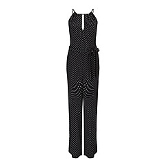 Miss Selfridge - Spot strappy jumpsuit