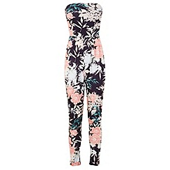 Miss Selfridge - Tropical floral jumpsuit