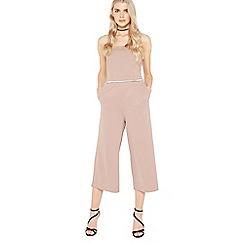 Miss Selfridge - Bandeau cullote jumpsuit