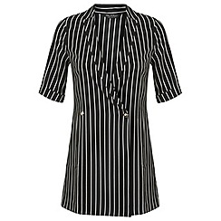 Miss Selfridge - Pinstripe playsuit