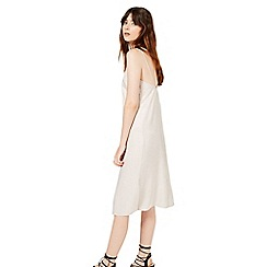 Miss Selfridge - Satin midi slip dress