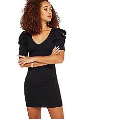Miss Selfridge - Black big sleeves dress