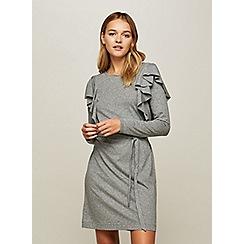 Miss Selfridge - Long sleeves tie waist dress