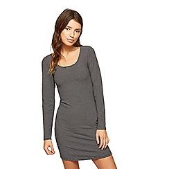 Miss Selfridge - Stripe long sleeves dress