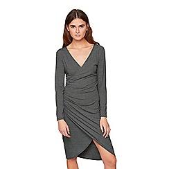 Miss Selfridge - Stripe wrap dress