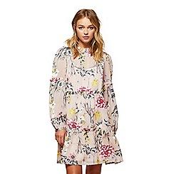 Miss Selfridge - Floral burnout smock dress
