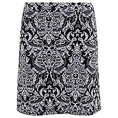 Miss Selfridge - Jacquard a-line mini skirt