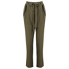 Miss Selfridge - Khaki utility trouser