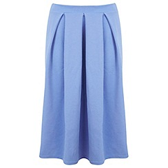 Miss Selfridge - Cornflower midi skirt
