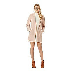 Miss Selfridge - Blush duster coat