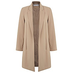 Miss Selfridge - Camel duster coat