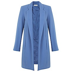 Miss Selfridge - Blue duster coat