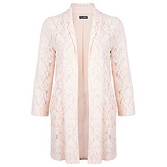 Miss Selfridge - Lace long line duster