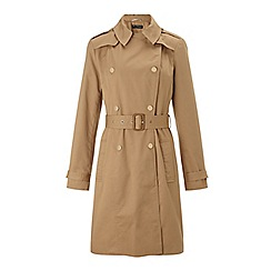Miss Selfridge - Camel structured mac