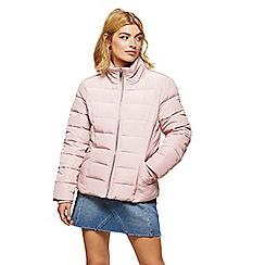 Miss Selfridge - Pink puffer jacket