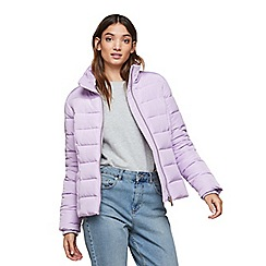 Miss Selfridge - Lilac puffer coat