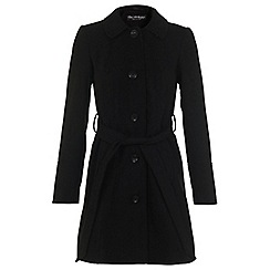 Miss Selfridge - Single breasted belted coat