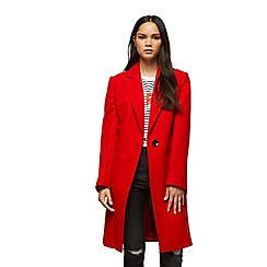 Miss Selfridge - Red statement coat