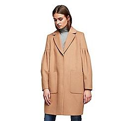 Miss Selfridge - Balloon sleeves coat