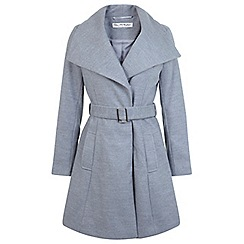 Miss Selfridge - Belted wrap coat