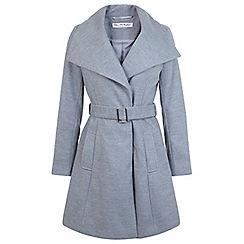 Miss Selfridge - Belted wrap coat