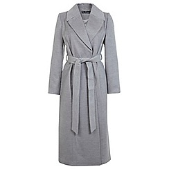 Miss Selfridge - Belted maxi coat