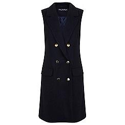 Miss Selfridge - Military sleeveless coat