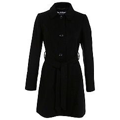 Miss Selfridge - Single breasted belted coat