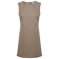 Miss Selfridge - Croc embossed shift dress