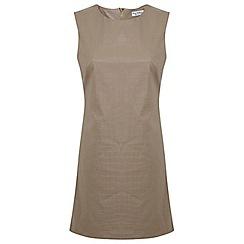Miss Selfridge - Croc embossed shift dress