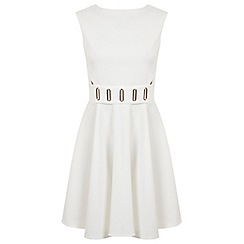 Miss Selfridge - White eyelet dress