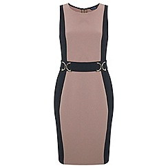 Miss Selfridge - Colourblock trim pencil dress
