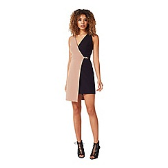 Miss Selfridge - Wrap trim dress