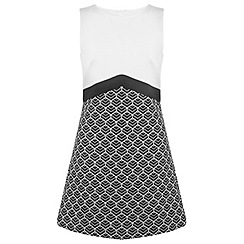 Miss Selfridge - Jacquard shift dress