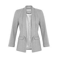 Miss Selfridge - Grey ponte jacket