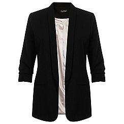 Miss Selfridge - Rouched sleeve tux jacket