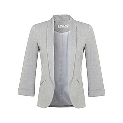 Miss Selfridge - Grey marl blazer