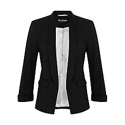 Miss Selfridge - Black ponte jacket