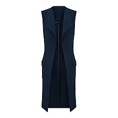 Miss Selfridge - Patch pocket sleeveless jacket