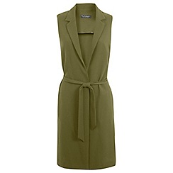 Miss Selfridge - Sleeveless longline jacket