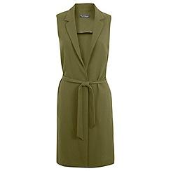 Miss Selfridge - Sleeveless longline jacket