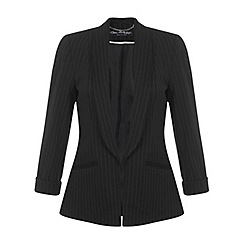 Miss Selfridge - Black pinstripe jacket
