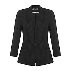 Miss Selfridge - Black pinstripe jacket