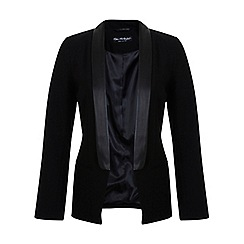 Miss Selfridge - Pu lapel tux blazer