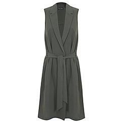Miss Selfridge - Sleevless longline jacket