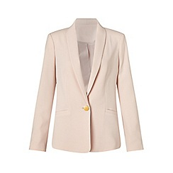 Miss Selfridge - Nude button detail jacket